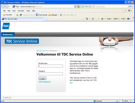 TDC Service Online