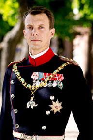 HRH Prince Joachim of Denmark