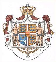 Det danske kongelige våben er fastsat ved kongelig resolution af 5. juli 1972.